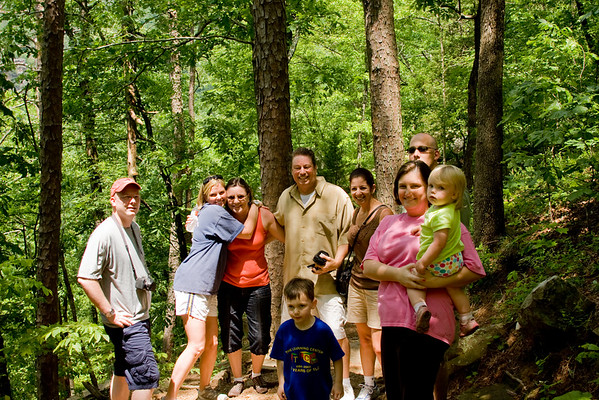 Joe and Ines Wedding Weekend Family Activities and Scenery, Petit Jean State Park Morrilton AR May 14-17, 2009