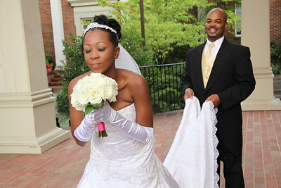 Joseph & Claudelle White's Wedding