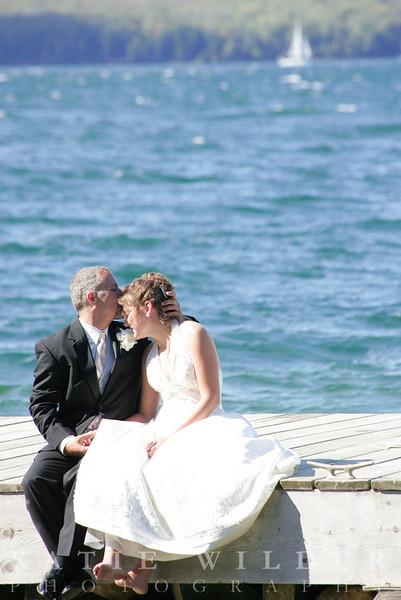Joe & Kelly's Island Wedding- Madeline Island