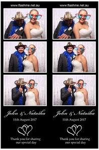 John & Natasha's Wedding - 11 August 2017