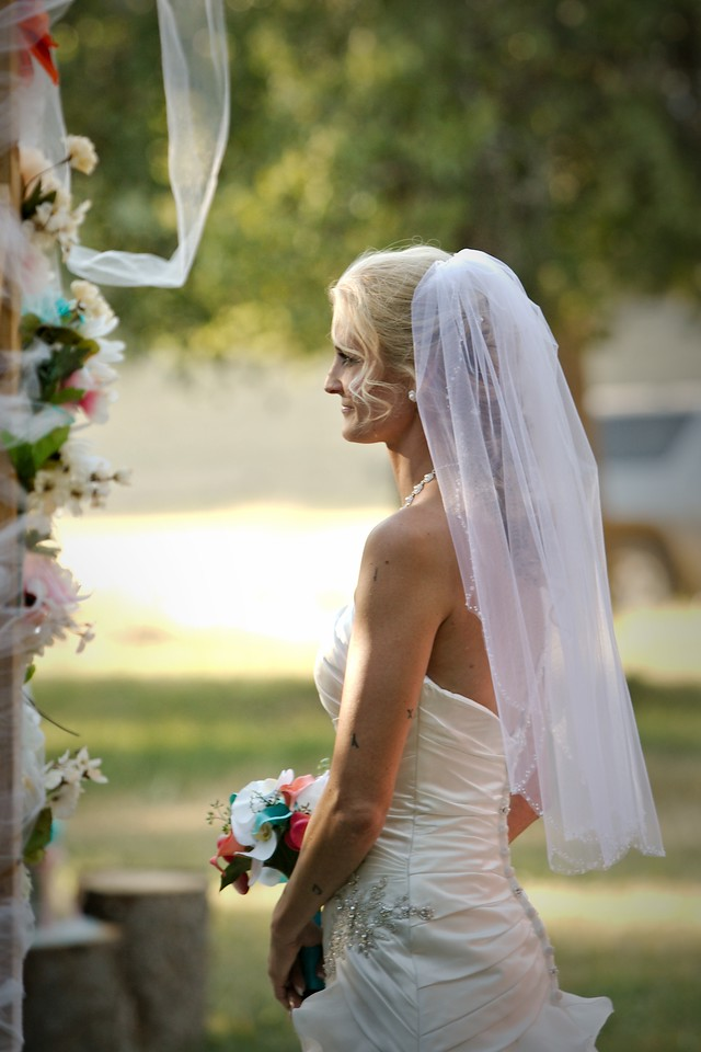Bride at the Arbor