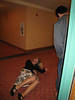 Kimbo... fell down...