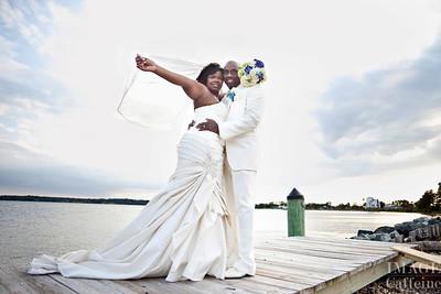 Johnsons' wedding