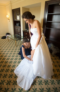 Jon and Catherine - Getting Ready