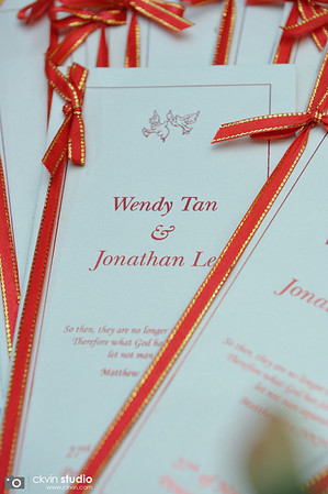 Jonathan Lee & Wendy Tan