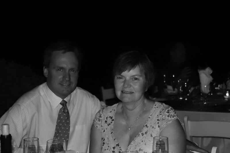 Brian & Glenda bw