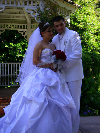Jose and Ruth Velasquez Wedding at the Edward's Mansion, Redlands CA April 12, 2008