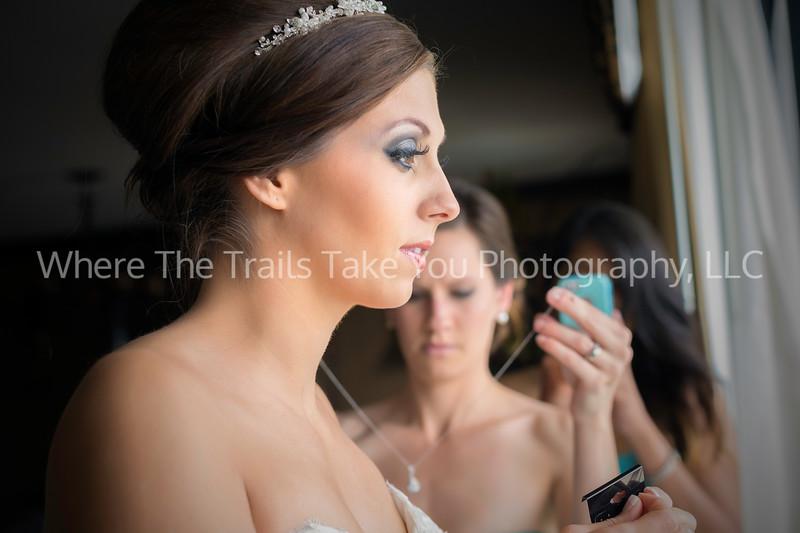 Putting On The Wedding Jewelry