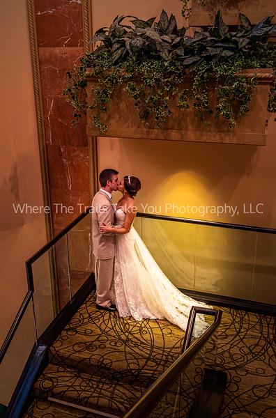 Josh & Maegan - Kissing - Stairs - Perfect Effects