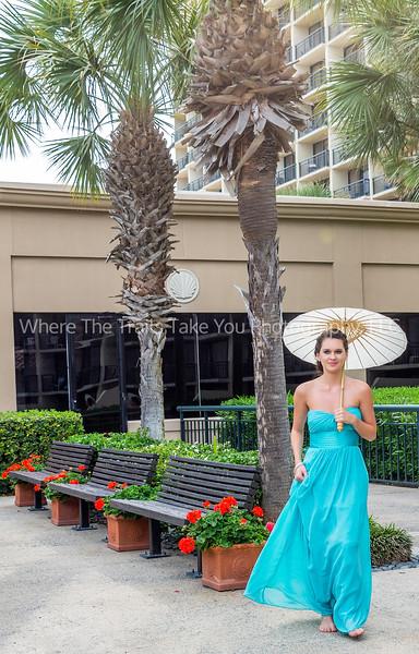 Ashley Starting The Bridal Procession