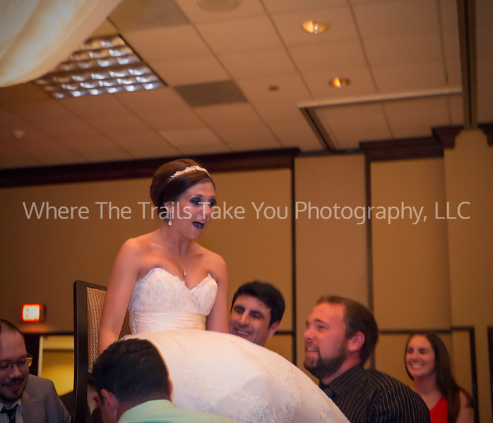 Lifting Up The Bride