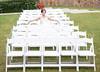 Bride Relaxing - Wider Shot