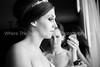 Putting On The Wedding Jewelry BW