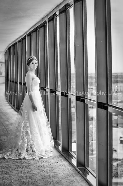 Bride In The Hallway