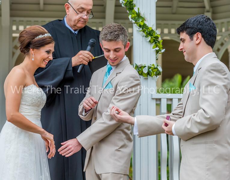 Handing Josh The Ring