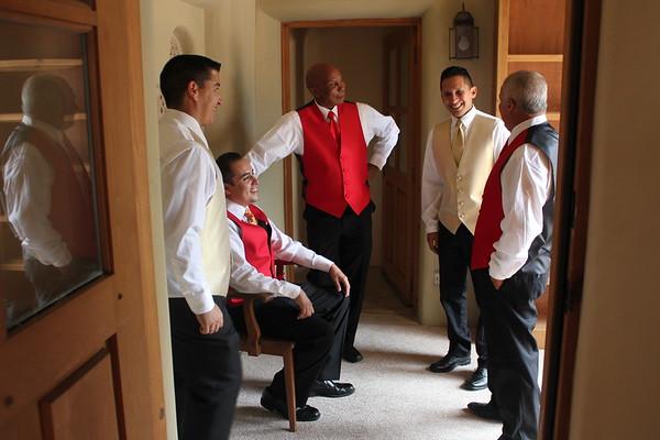 Groom & Groomsmen Getting Ready (Proofs)