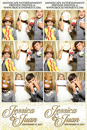 Juan & Jessica's Wedding - Photo Booth Pictures