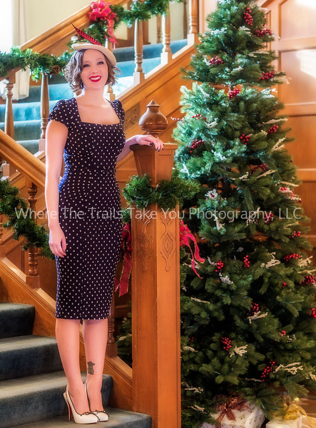 9.  Juliana - The staircase in the Weyerhaeuser Mansion must have been made with photography in mind.  I used two different cameras that day, so while many of the images you see will look alike, they were actually taken with different cameras and lenses.