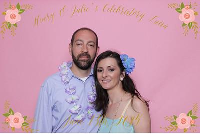 Julie + Henry // BOOTHTASTIC!!