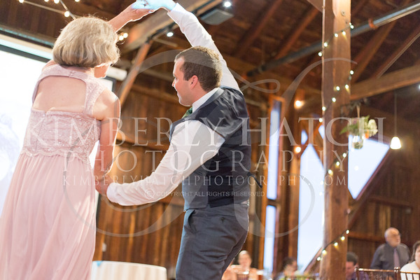Reception Mother Son Dance Julie Mike Wedding The Red Barn