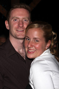 Heather and John enjoying some dancing - Chagrin Falls, OH ... June 27, 2009 ... Photo by Bob Page, Jr.