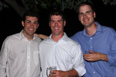 Joe Muli, Paul Warriner, and Peter Cowan - Chagrin Falls, OH ... June 27, 2009 ... Photo by Bob Page, Jr.