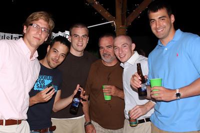 Matt Jensen, Elliot Chong, Fred Bauters, Bill Zaylor, Kyle Zaylor, Mike Skuski - Chagrin Falls, OH ... June 27, 2009 ... Photo by Bob Page, Jr.