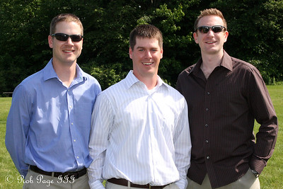 The Canadian crew of Peter, Paul, and John - Chagrin Falls, OH ... June 27, 2009 ... Photo by Bob Page Jr.