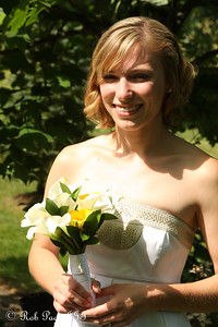 Julie on her wedding day - Chagrin Falls, OH ... June 27, 2009 ... Photo by Rob Page III