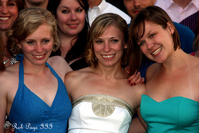 Abby, Julie, and Mara - Chagrin Falls, OH ... June 27, 2009 ... Photo by Rob Page III