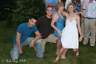 Elliot Chong, Fred Bauters, Abby, and Julie - Chagrin Falls, OH ... June 27, 2009 ... Photo by Rob Page III