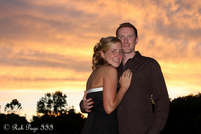 Heather and John on Julie and Paul's wedding day - Chagrin Falls, OH ... June 27, 2009 ... Photo by Bob Page, Jr.