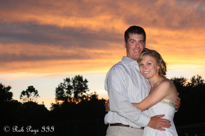 Julie and Paul on their wedding day - Chagrin Falls, OH ... June 27, 2009 ... Photo by Bob Page, Jr.
