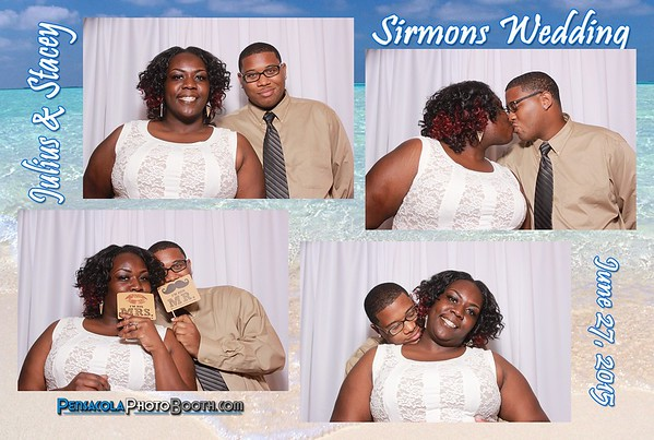 Julius & Stacey Sirmons Wedding June 27, 2015