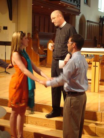<b>July '08: George & Emily's Wedding Rehearsal</b>