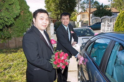 Picking up the Bride