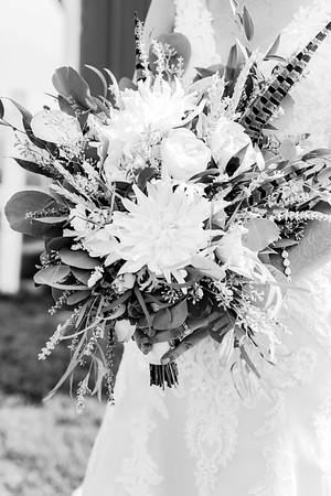00113-©ADHPhotography2019--JustinMattieBell--Wedding--September28bw