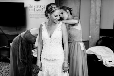00048-©ADHPhotography2019--JustinMattieBell--Wedding--September28bw