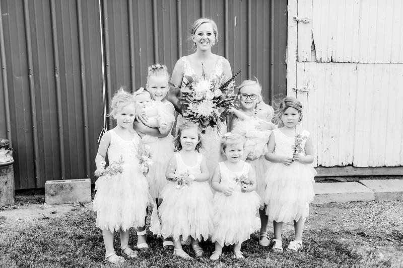 00734-©ADHPhotography2019--JustinMattieBell--Wedding--September28bw