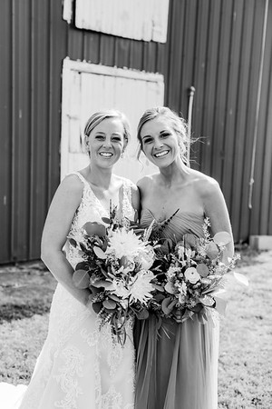 00188-©ADHPhotography2019--JustinMattieBell--Wedding--September28bw