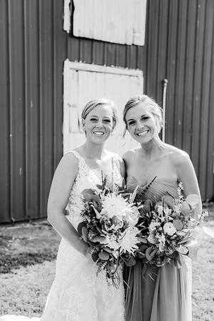 00185-©ADHPhotography2019--JustinMattieBell--Wedding--September28bw