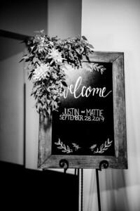 00019-©ADHPhotography2019--JustinMattieBell--Wedding--September28bw