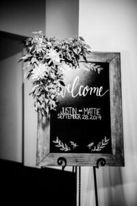 00020-©ADHPhotography2019--JustinMattieBell--Wedding--September28bw