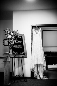 00007-©ADHPhotography2019--JustinMattieBell--Wedding--September28bw