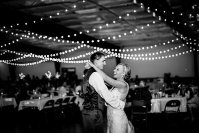 02872-©ADHPhotography2019--JustinMattieBell--Wedding--September28bw
