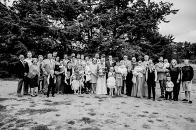 02008-©ADHPhotography2019--JustinMattieBell--Wedding--September28bw
