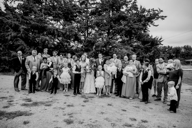 02003-©ADHPhotography2019--JustinMattieBell--Wedding--September28bw