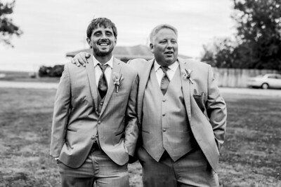 01045-©ADHPhotography2019--JustinMattieBell--Wedding--September28bw