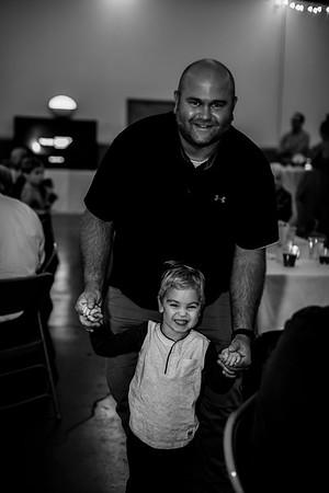 02836-©ADHPhotography2019--JustinMattieBell--Wedding--September28bw