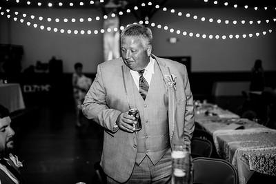 02828-©ADHPhotography2019--JustinMattieBell--Wedding--September28bw